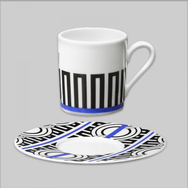 Espresso cup / Saucer stripe