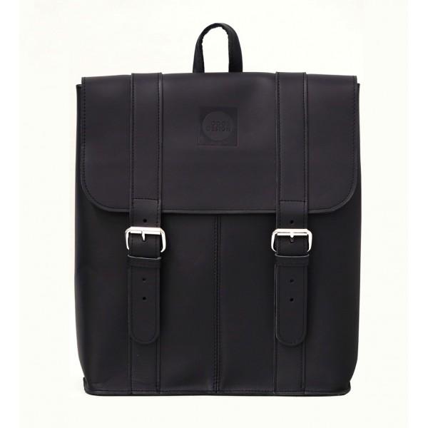 Good Design® Black leather backpack