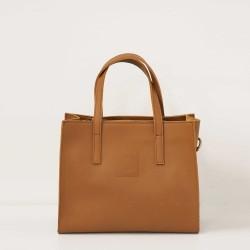 Good Design® Tobacco Leather Handbag