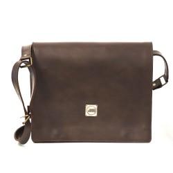 Good Design® Brown Professional Bag with Metal Signature Branding